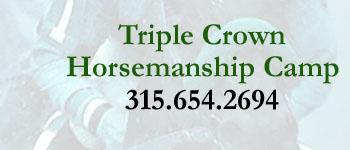 Triple Crown Horsemanship Camp
